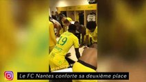 Le FC Nantes conforte sa deuxième place