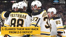 Ford F-150 Final Five Facts: Bruins First 3-0-0 Start Since 2001