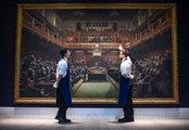 Banksy bat son record : sa toile vendue 11 millions d'euros