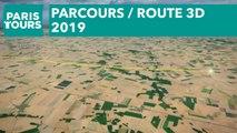 Parcours / Route 3D - Paris - Tours 2019