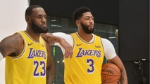 LeBron James Gives Anthony Davis His Number 23 For The Los Angeles Lakers