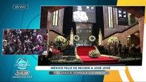 Todo México rinde homenaje a José José. | Venga La Alegría