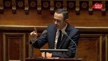 «Vous êtes dans une logique de faux-semblants», reproche au gouvernement Bruno Retailleau