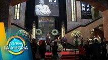 Ricardo Casares fue parte de la guardia al féretro de José José en Bellas Artes. | Venga La Alegría