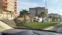 Barış Pınarı Harekatı - Nusaybin ilçe merkezindeki bazı noktalara roket isabet etti (2) - MARDİN