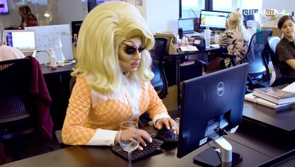 Trixie Mattel: Elite Daily Office Takeover
