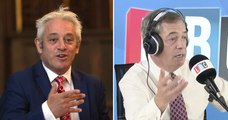 Nigel Farage Has Fierce Row With Caller Over Bercow's Neutrality