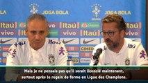 """OL - Le staff du Brésil """"surpris"""" par le licenciement de Sylvinho"""