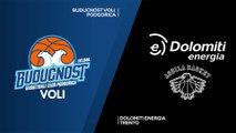 Buducnost VOLI Podgorica - Dolomiti Energia Trento Highlights | 7DAYS EuroCup, RS Round 2