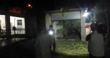 Akçakale'de bir eve havan topu isabet etti