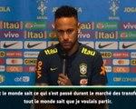 """Brésil - Neymar : """"Je me sens heureux et à l'aise au PSG"""""""