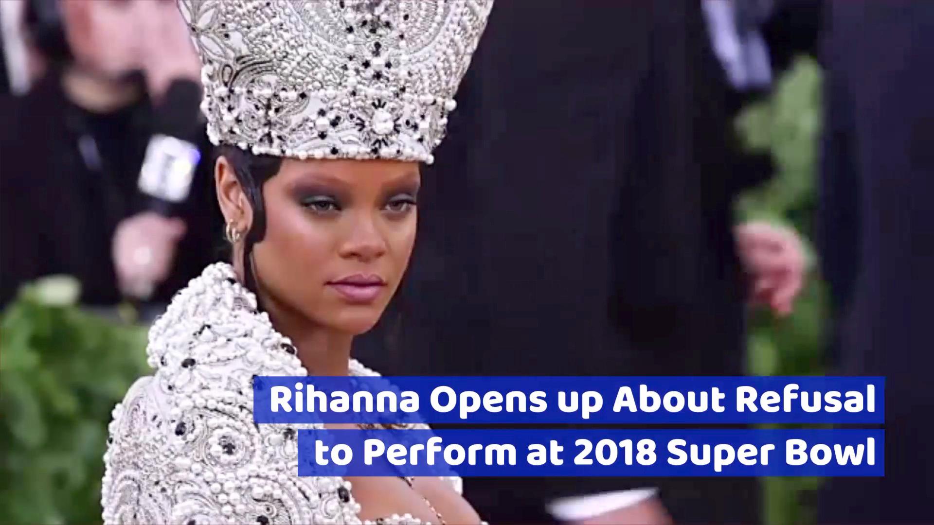 Rihanna Talks About Denying The Super Bowl