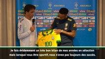 """Brésil - Neymar """"très heureux"""" d'atteindre les 100 sélections"""