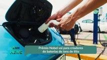 Prêmio Nobel vai para criadores de baterias de íons de lítio