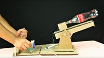 WoW! How to Make a POWERFUL CANNON from Cardboard and Coca Cola Bottle