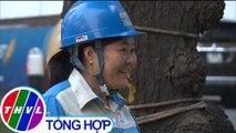 THVL | Người nữ lao công được trao tặng danh hiệu Công dân Thủ đô ưu tú