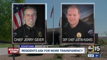 The latest on why Goodyear's police chief and deputy police chief  have been put on administrative leave