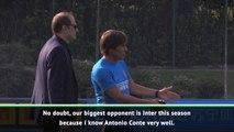 Inter will be Juventus' main rival because of Conte - Buffon