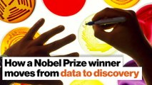 How a Nobel Prize winner moves from data to discovery