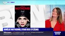 À l'approche des résultats du Goncourt des lycéens, Amélie Nothomb a rencontré son jury mardi à la faculté de Jussieu