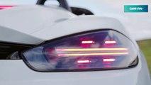 2020 White Porsche 718 Spyder - Pure Driver's Car