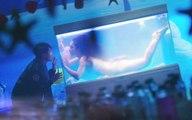 【晓敏讲故事】男子买的巨蚌里竟藏着一个龙女,于是把她养在鱼缸里慢慢研究欣赏
