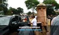 [BREAKING NEWS] Menko Polhukam Wiranto Diserang Orang Tak Dikenal di Pandeglang