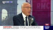"""Éric Ciotti (LR) souhaite que les """"faux demandeurs d'asile"""" soient reconduits dans leurs pays"""
