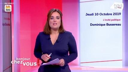 Dominique Bussereau - Public Sénat jeudi 10 octobre 2019