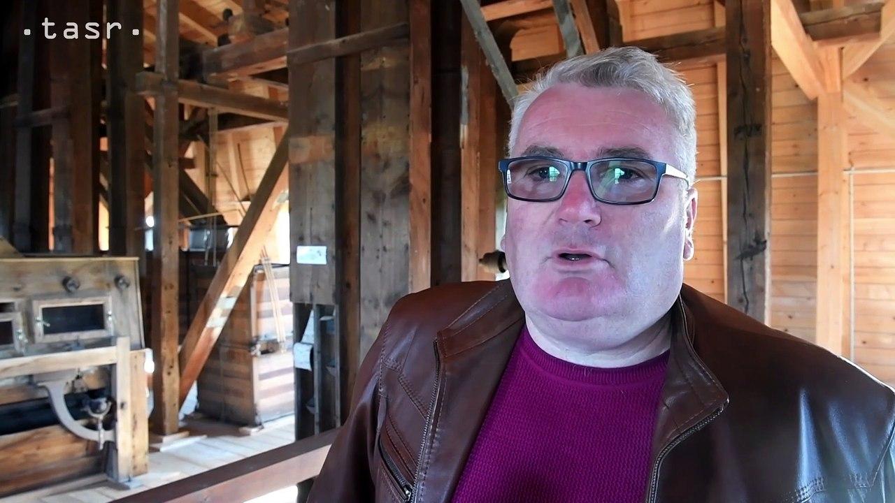 Vzácny parný mlyn v Buzici približuje spôsob mletia obilia v minulosti