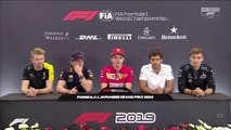 F1 2019 Japanese GP - Thursday (Drivers) Press Conference