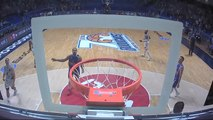 George King three-pointers against Buducnost VOLI