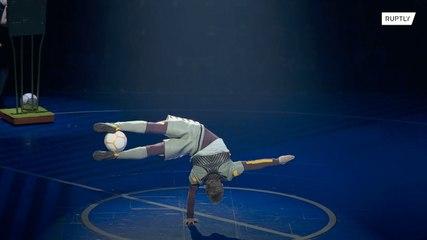 Cirque dSoleil celebra el ensayo general del espectáculo Messi10 en Barcelona