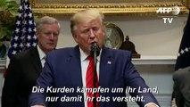Trump: Die Kurden haben uns nicht in der Normandie geholfen