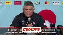 Joseph «Nous voulons jouer le match» - Rugby - Mondial - Japon