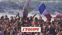la victoire de Jérémy Florès au Pro France en images - Adrénaline - Surf