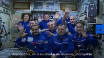 Luca Parmitano : un repas cosmopolite à bord de l'ISS