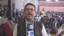 Informe a cámara: Cientos de guerreros indígenas de la Amazonía se unen a protestas en Quito