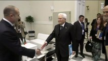 Atene -  Mattarella con il Presidente della Repubblica di Bulgaria, Rumen Radev (11.10.19)