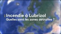Lubrizol : quelles sont les zones du site détruites par l'incendie