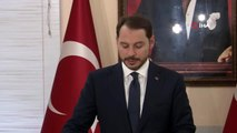 """Bakan Albayrak: """"Çok tarihi günlerden geçiyoruz. Tüm terör örgütleri ile mücadele ediyoruz"""""""