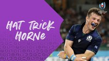 Incredible hat-trick from George Horne at Rugby World Cup 2019