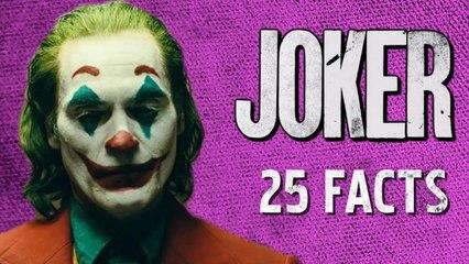 25 Facts About JOKER