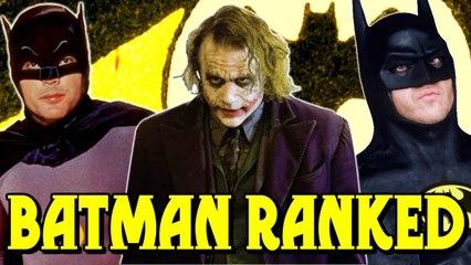 Every BATMAN Movie Ranked Worst to Best