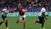 Outrageous offload leads to amazing Wales try at  Rugby World Cup 2019