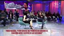 El mal rollo entre Marta Flich y Pablo Iglesias