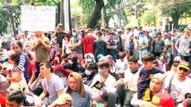 Endonezya'da sığınmacı protestosu - CAKARTA