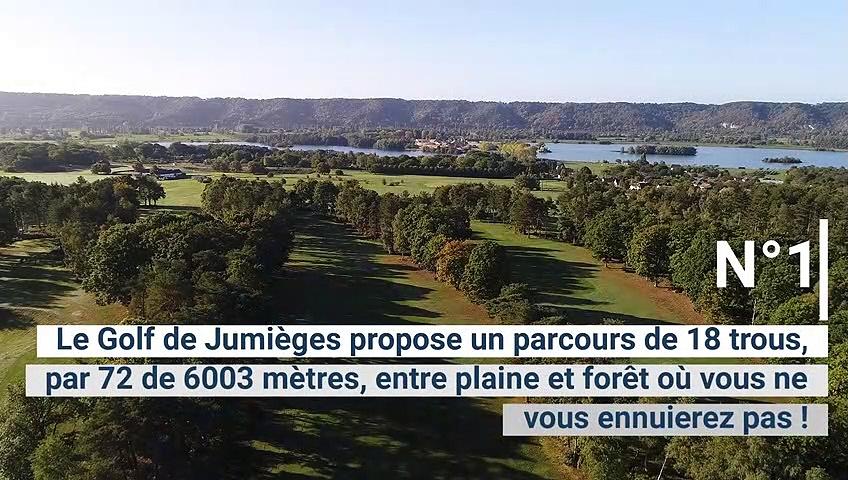Golf de la semaine : le Golf de Jumièges, un éco-golf au coeur d'une boucle de Seine