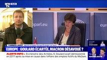 """Yannick Jadot sur le rejet de la candidature de Sylvie Goulard à un poste de commissaire européen : """"La France en sort affaiblie"""""""