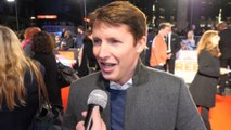James Blunt on his character in 'Greed'